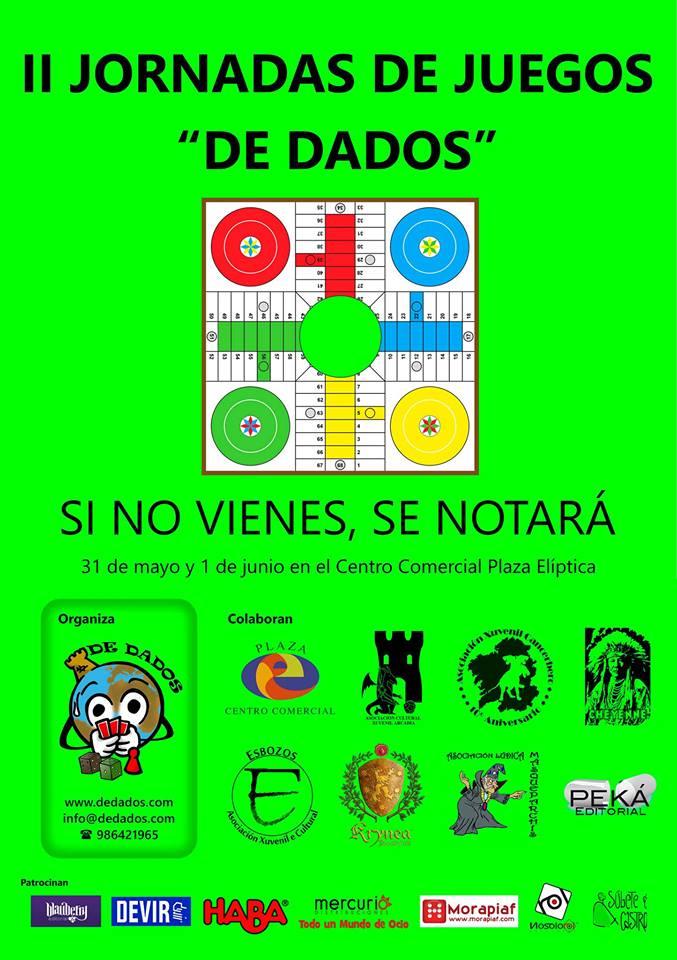 """Jornadas de juegos """"De Dados"""" 2ºedición"""