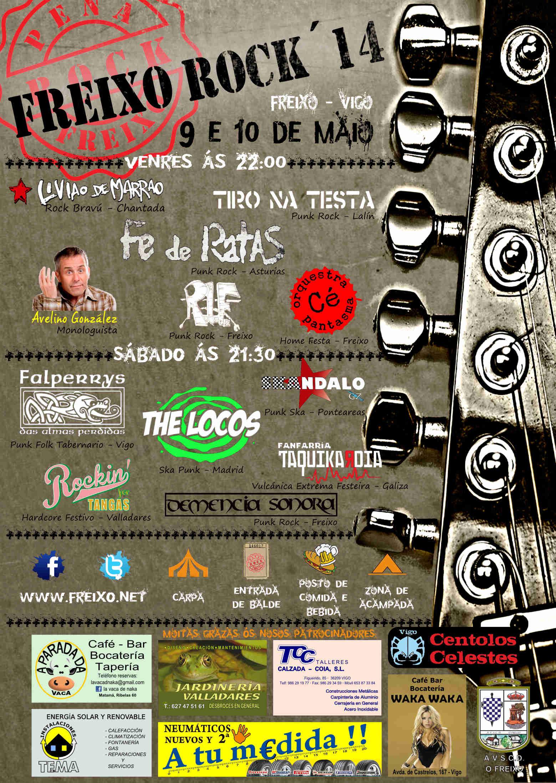 FREIXO ROCK '14 – 9 e 10 de maio