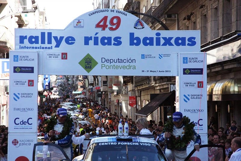 Rallye Rías Baixas en Vigo – 50 aniversario