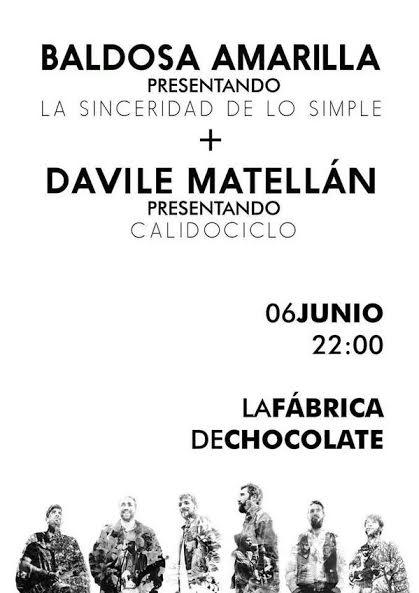 Matellán presenta disco el viernes en La Fábrica de Chocolate