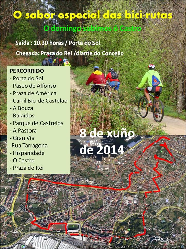 Bici Ruta por 'O Castro'