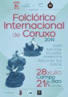 Festival folclórico internacional en Coruxo