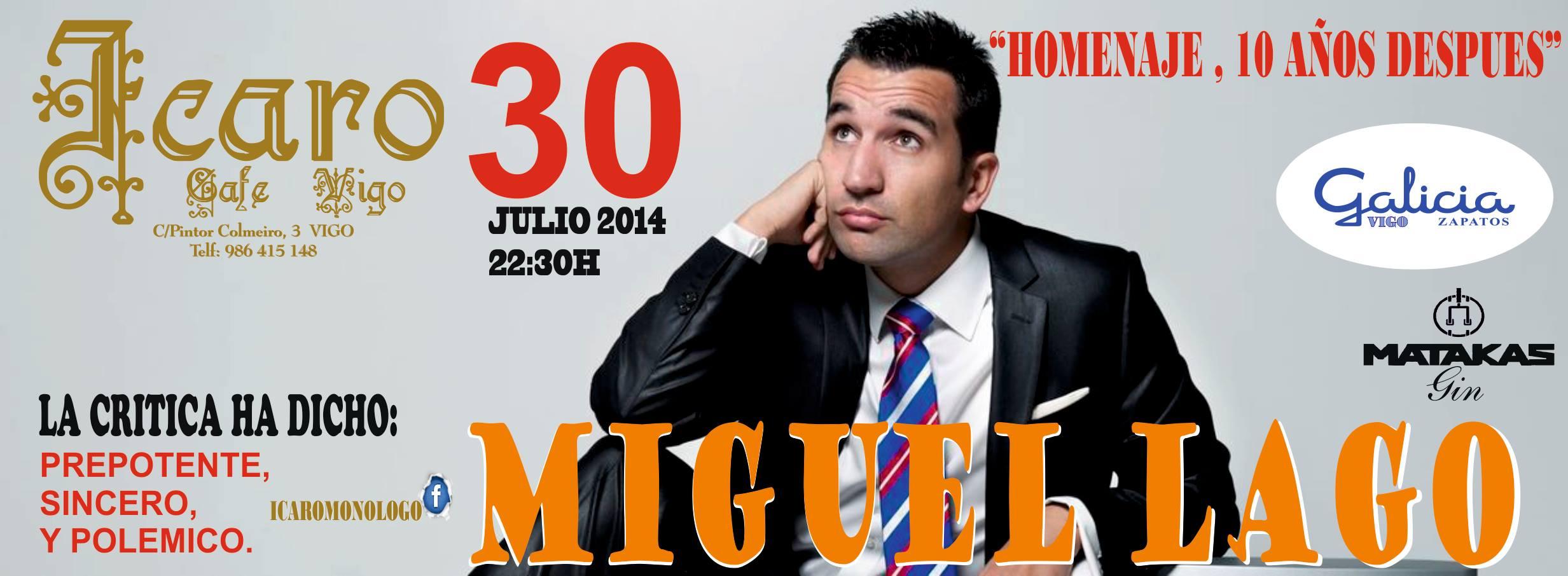 Miguel Lago en Ícaro