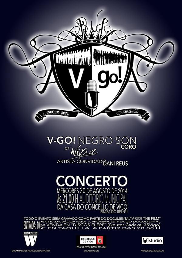 V-Go! Negro Son, coro de Wöyza, en concierto y mucho más…