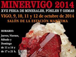 Minervigo 2014: minerales, fósiles y conchas