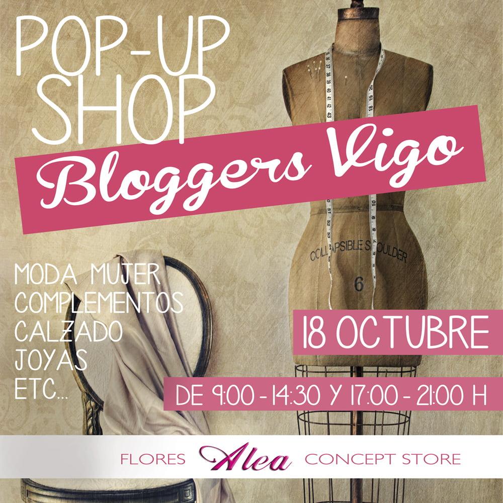 Bloggers de Moda en la Pop Up Shop