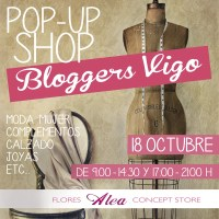 Bloggers de Moda en la Pop Up Shop
