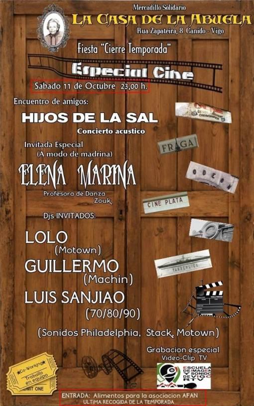 Fiesta cierre temporada Especial Cine