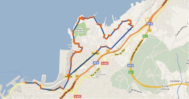 Bici Rutas Vigo Norte