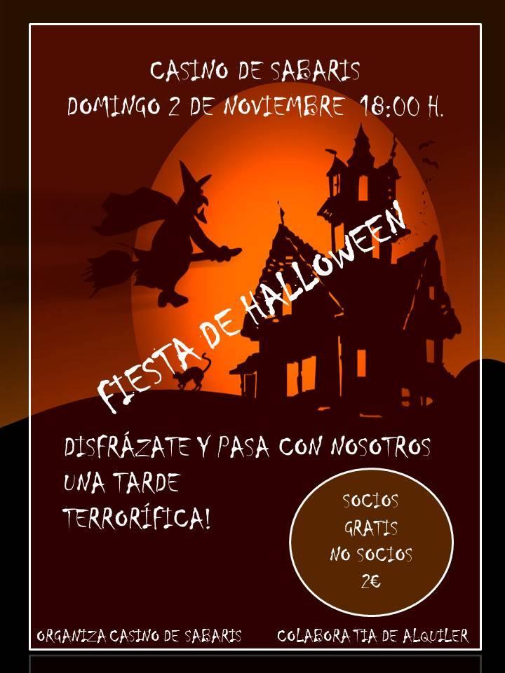 Fiesta infantil de Halloween, Casino de Sabaris