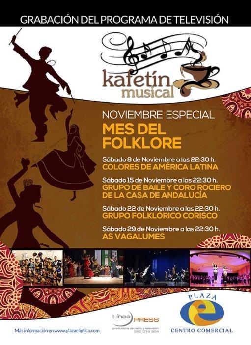 Kafetín Musical mes del Folclore
