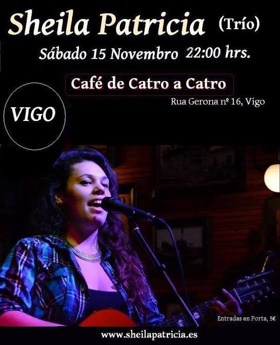 Concierto de Sheila Patricia en Vigo