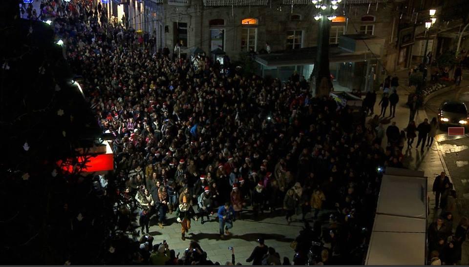 Vídeo oficial Flashmob Fireball Navidad 2014