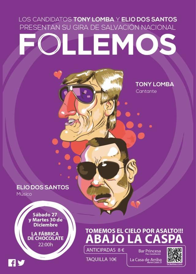 Tony Lomba y Elio dos Santos