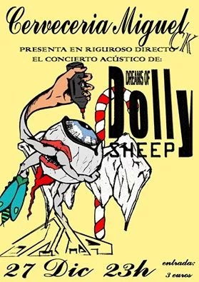 Concierto de  Dreams of Dolly sheep