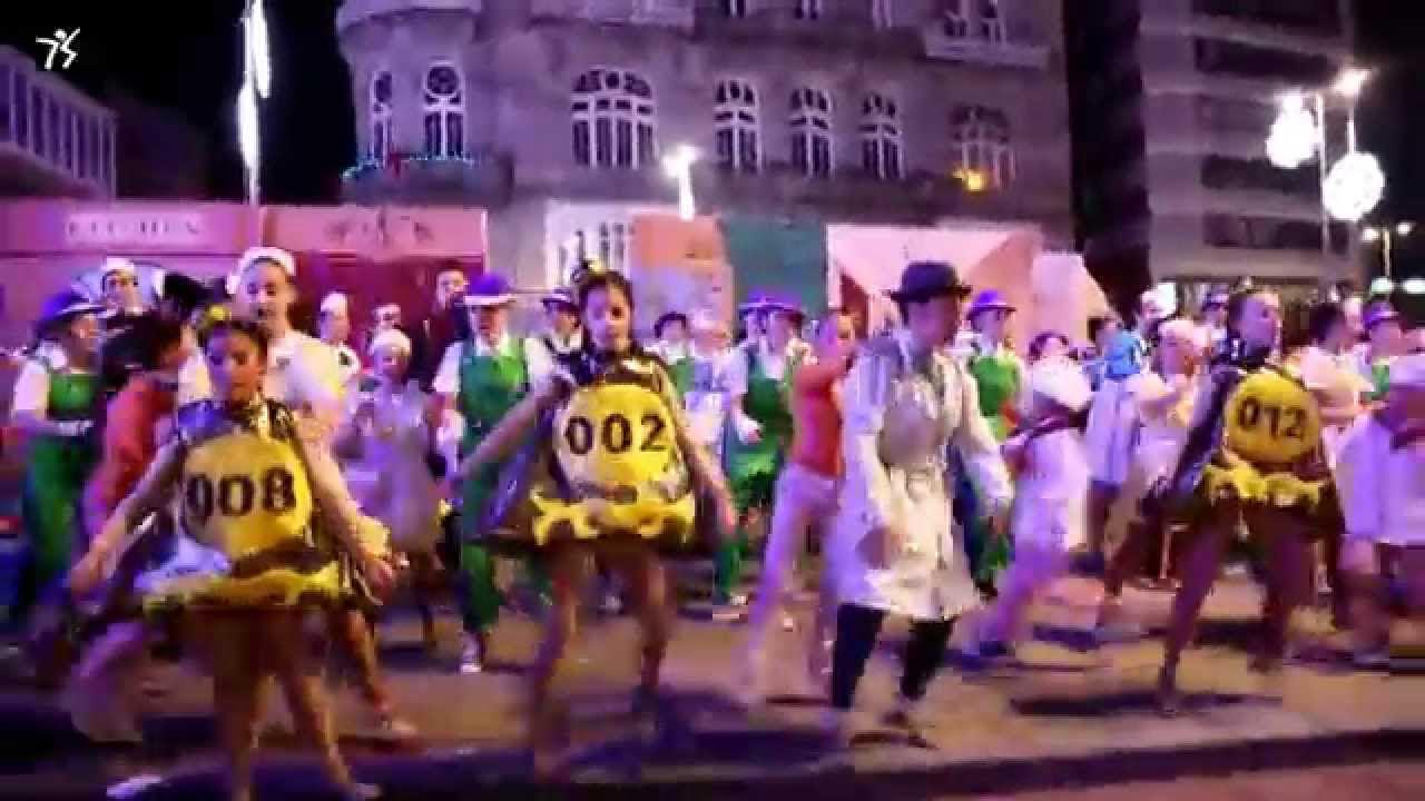Espectáculo de baile en el centro de Vigo