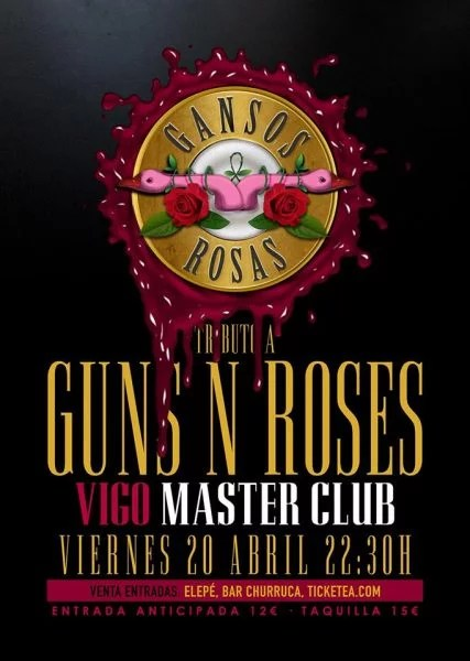 Gansos Rosas en Vigo