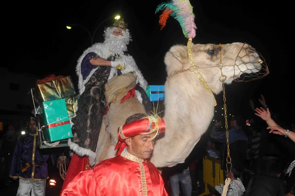 Reyes Magos en Mos