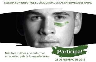 Flashmob para divulgar las enfermedades raras