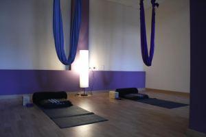Clase de prueba de Yoga Aéreo