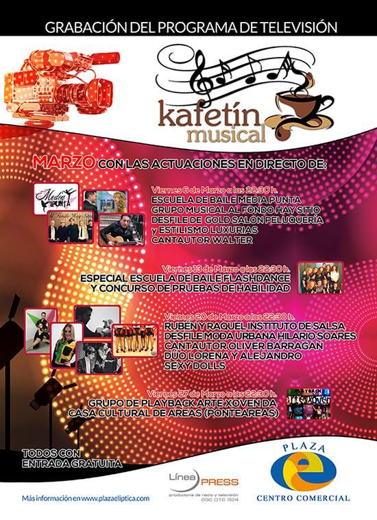 Kafetín Musical de Marzo