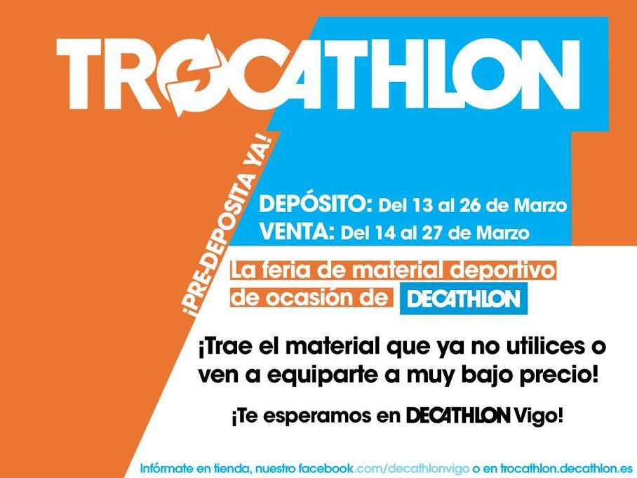 Trocathlon en Vigo, compra-venta de material deportivo