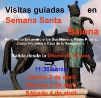 Visitas Guiadas en Semana Santa por Baiona