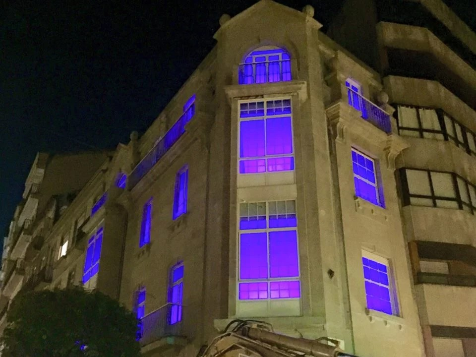 Light It Up Blue en Vigo