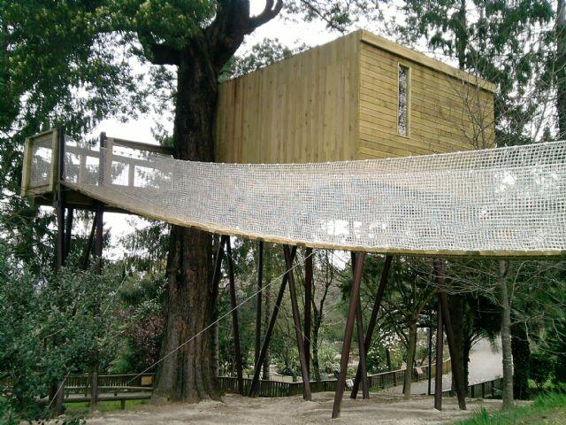 Dormir en una Cabaña en Vigozoo