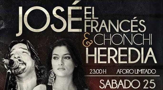 José el Francés y Chonchi Heredia