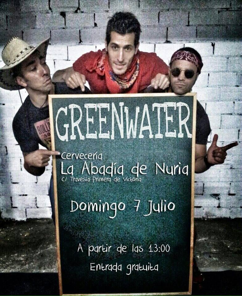 Concierto de Greenwater (Sesión Vermut)