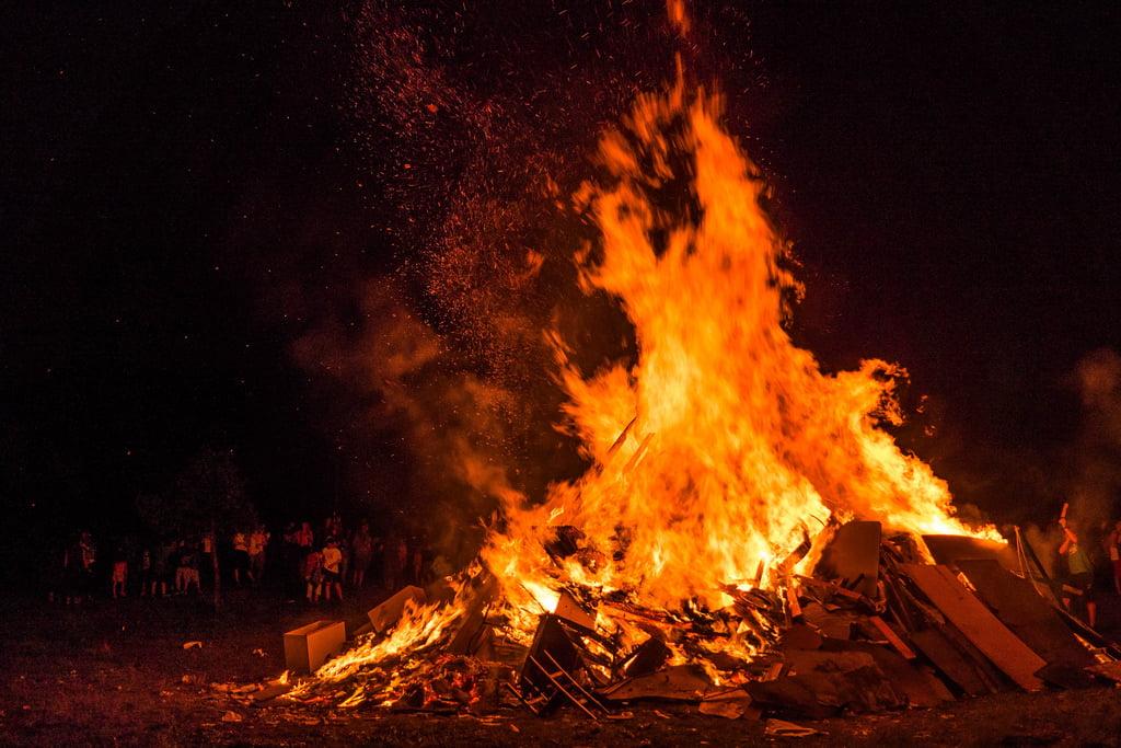 Fiesta de San Juan. Valladares, O Freixo