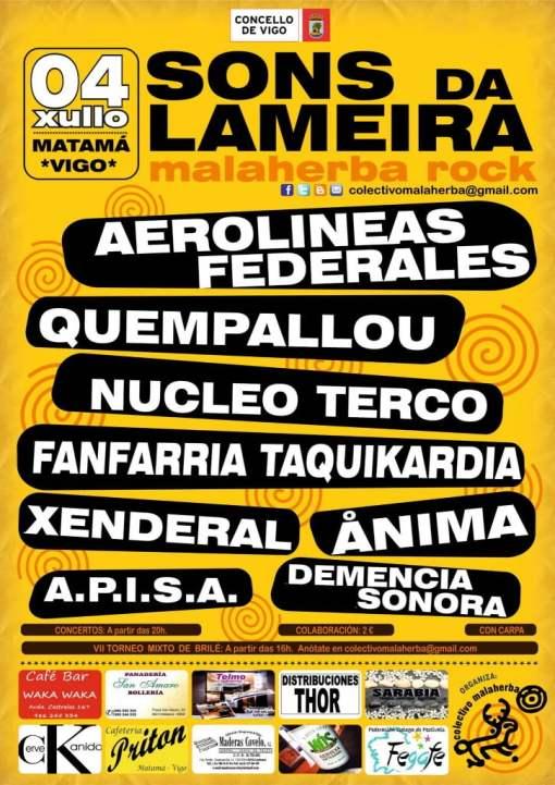 Festival Sons da Lameira Malaherba Rock