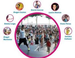 Evento benéfico de Zumba y Baile en Samil