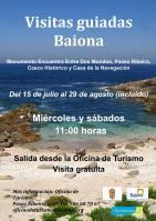 Visitas Guiadas Baiona 2015