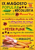 IX MAGOSTO POPULAR E RECOLLEITA DO MILLO . Matamá