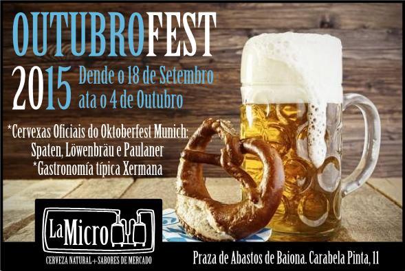 Cervecería La Micro – Outubrofest en Baiona