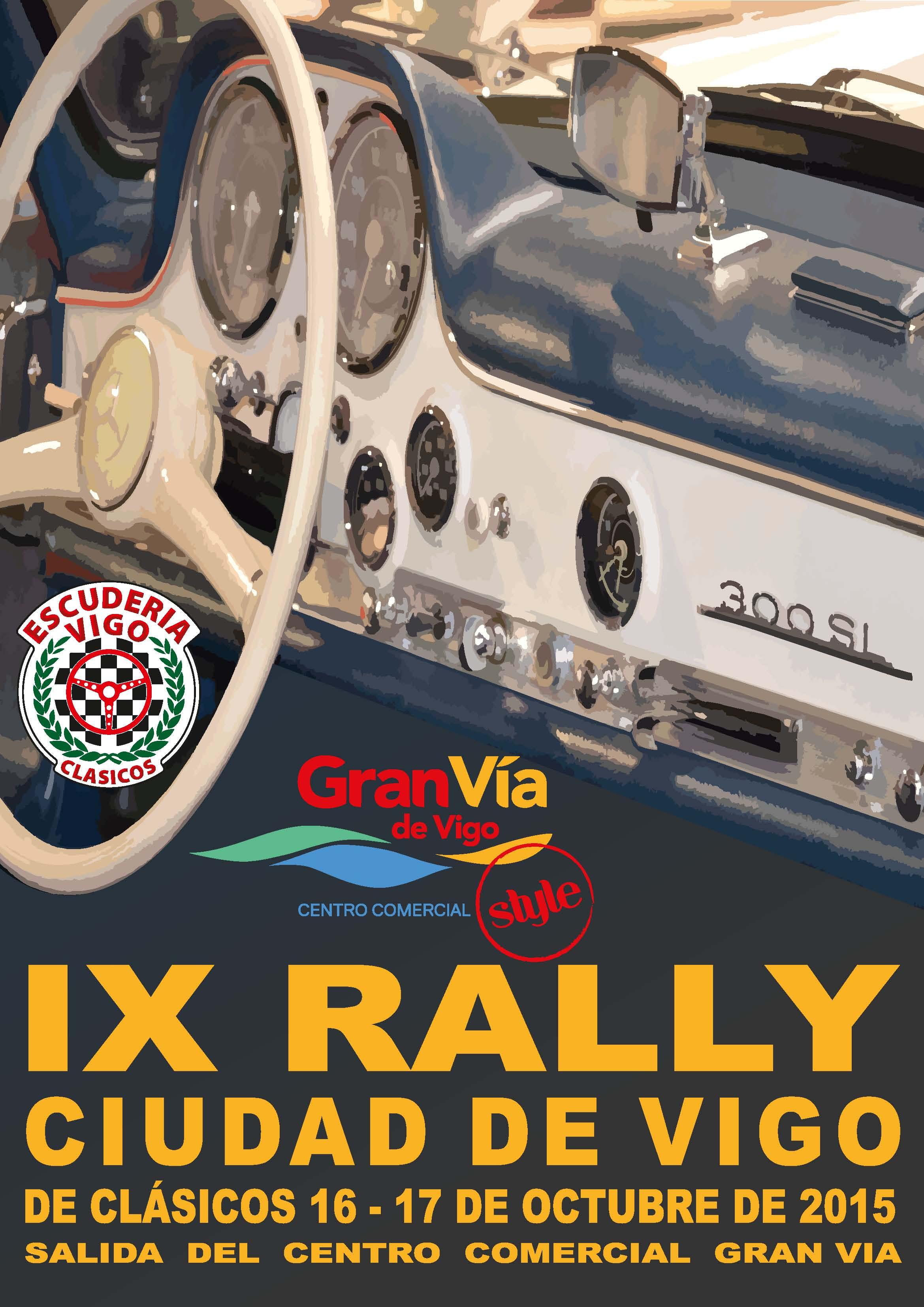 IX Rally Ciudad de Vigo para automóviles Clásicos