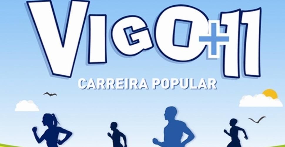 """Carreira popular Vigo +11 """"Trofeo El Corte Inglés 2015"""""""