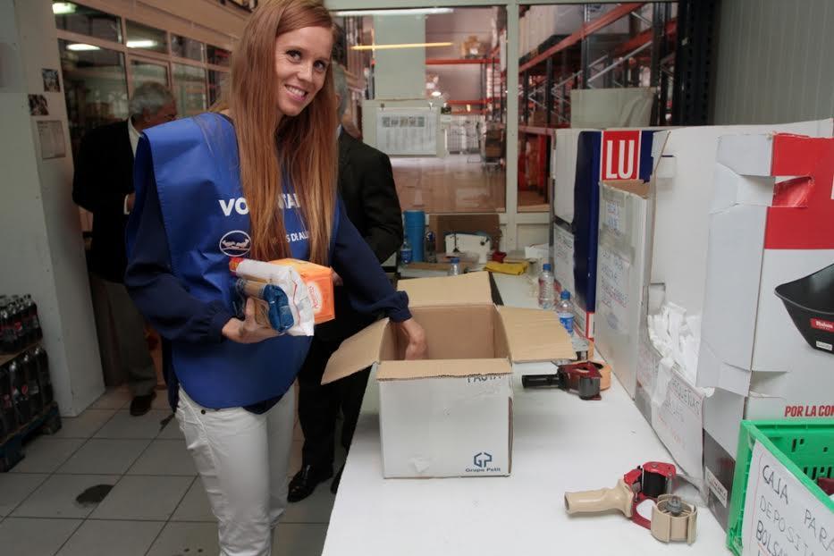 María Castro, embajadora del Banco de Alimentos para la Gran Recogida Solidaria