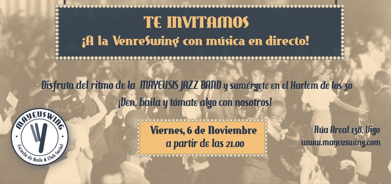 VenreSwing con la Mayeusis Jazz Band