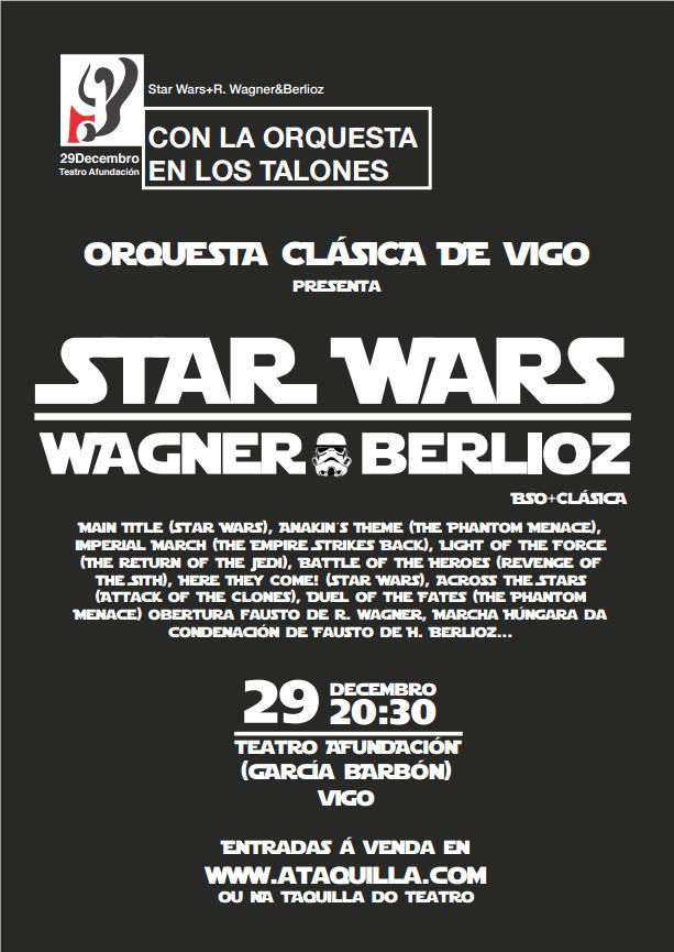 Orquesta Clásica de Vigo: Star Wars + Wagner y Berlioz