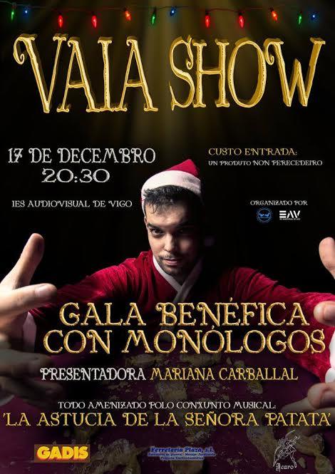 Vaia Show: Gala benéfica con monólogos