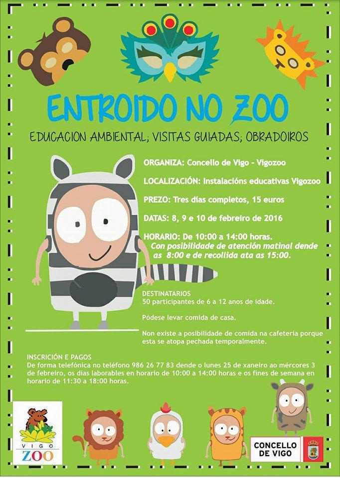 Entroido no Zoo en Vigo 2016