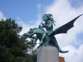 Monumento a los cantores, poetas y trovadores de la Ría de Vigo