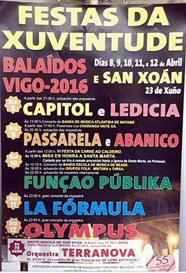 Festas da Xuventude 2016 de Balaídos