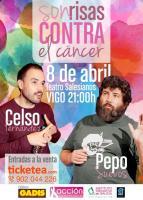 Sonrisas contra el cáncer con Pepo Suevos y Celso Fernández