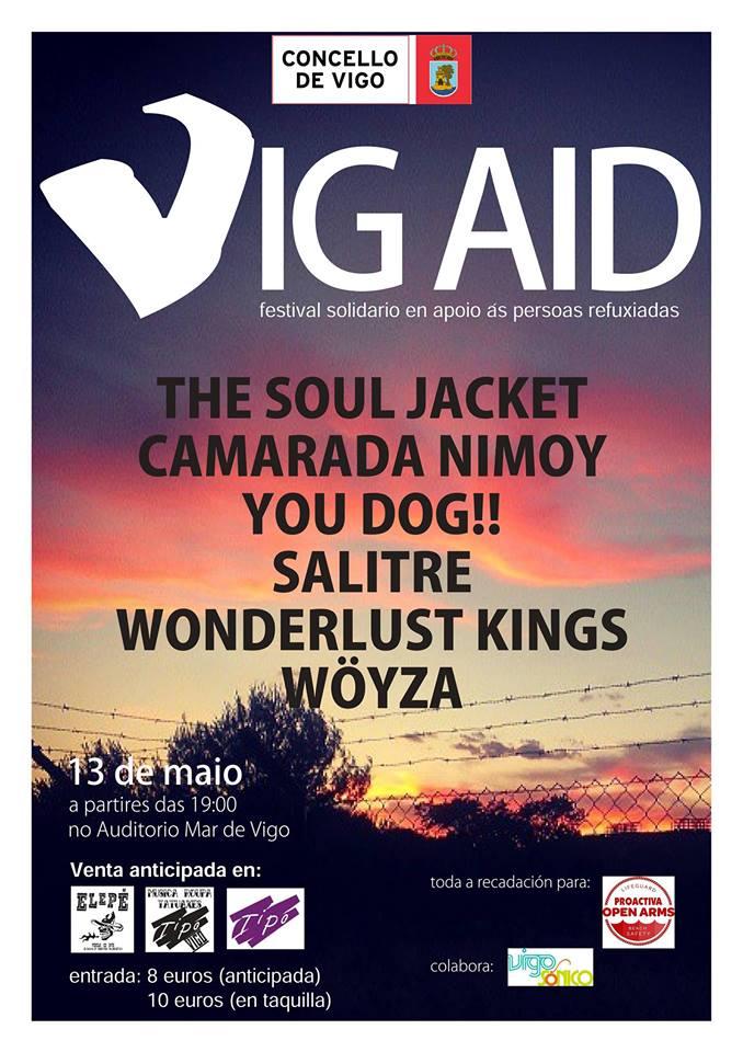 VIG AID: Festival local de apoyo a los refugiados
