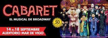 Cabaret, el musical de Broadway en Vigo