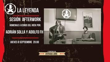 Sesión AfterWork con Adolfo FH y Adrian Solla